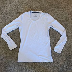 Womens Under Armour Long Sleeves Fitted Shirt